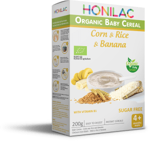 Био бебешка каша - царевиза, орис и бабан Honilac